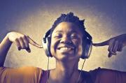 black woman listening